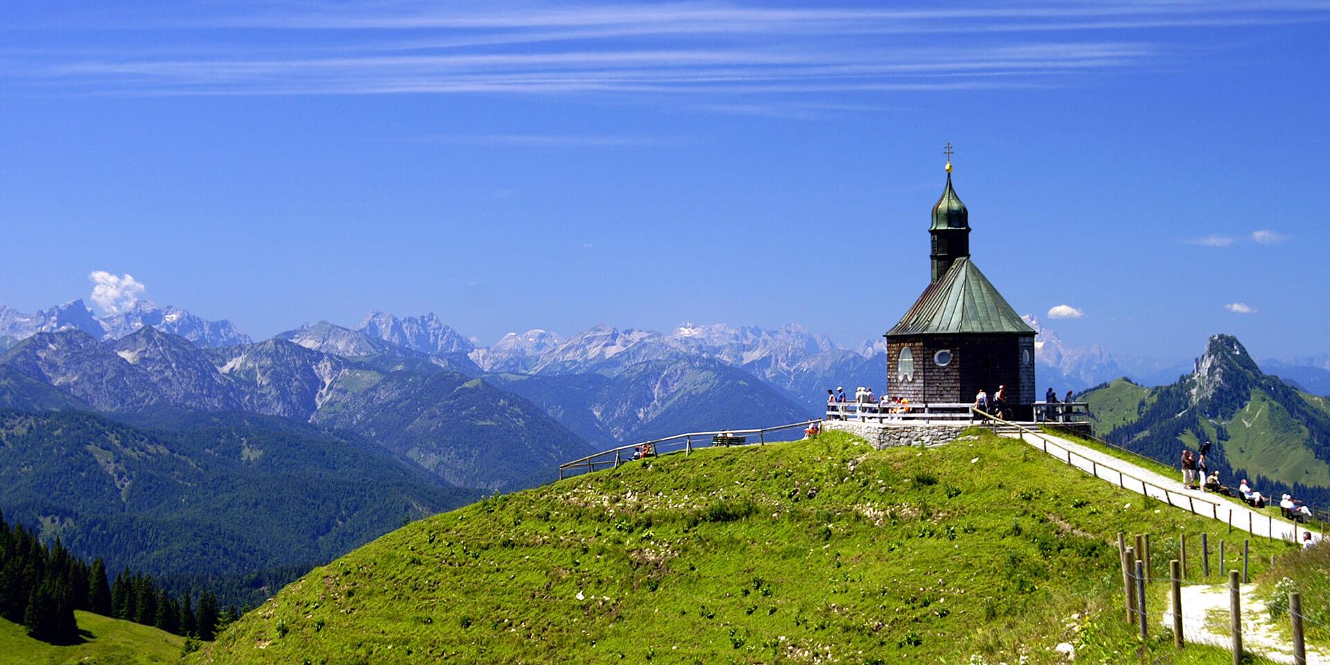 Kapelle in den Bergen